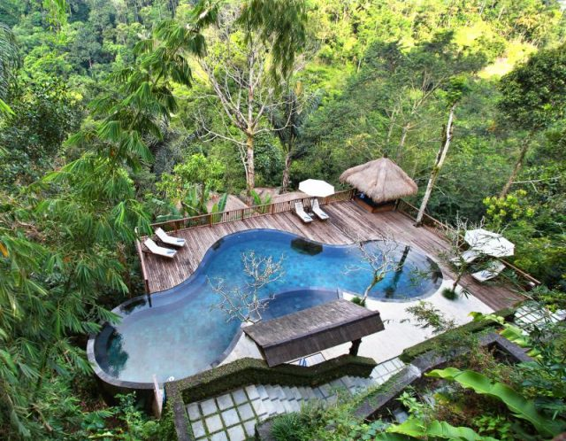 Nandini Bali Jungle Resort dan Spa Ubud Pool