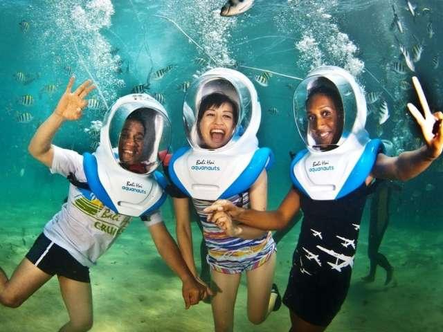 Aristocat Bali Hai Cruise with Aquanauts Sea Walking 1
